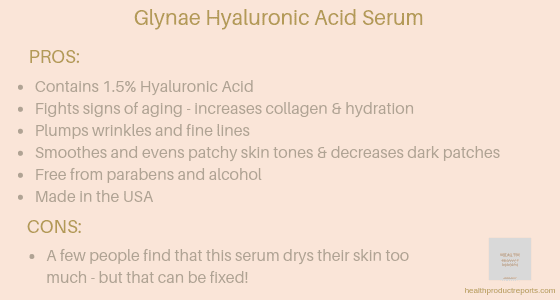 Glynae Hyaluronic Acid Serum