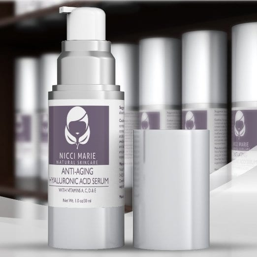 Nicci Marie Skincare Anti-Aging Hyaluronic Acid Serum