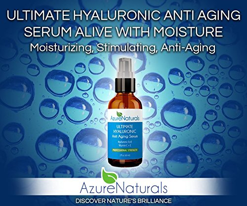 Azure Naturals Ultimate Hyaluronic Acid Serum