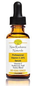 New Radiance Vitamin C and Hyaluronic Acid Serum