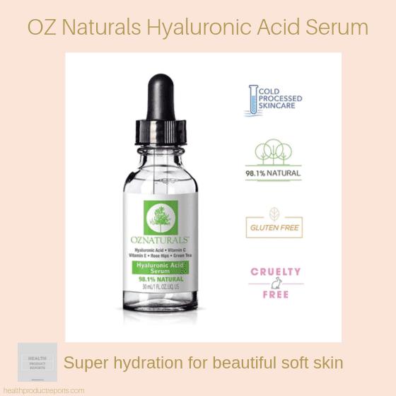 OZ Naturals Hyaluronic Acid Serum
