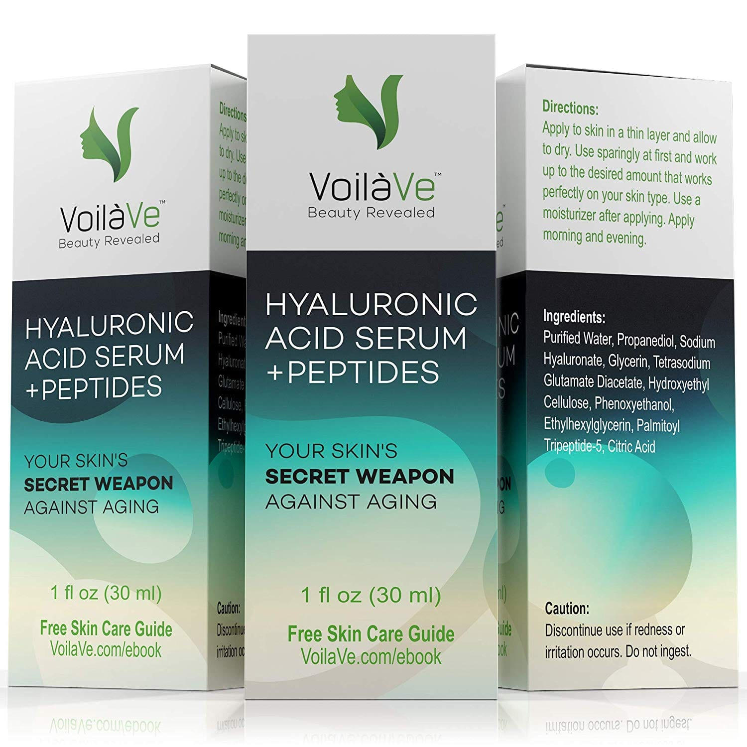 VoilaVe 100% Pure Hyaluronic Acid Serum