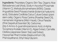 Valentia Even Glow Serum ingredients