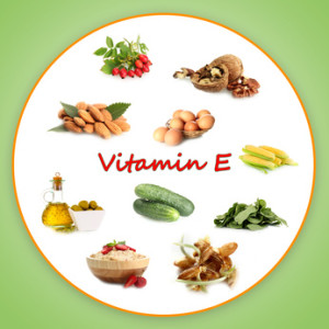 Hyaluronic acid serum and vitamin E