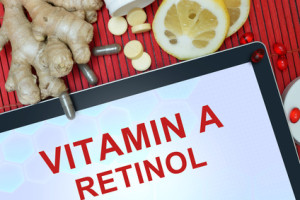 Vitamin A and retinol in this hyaluronic acid serum