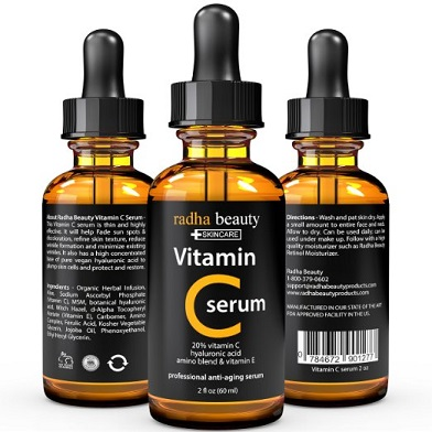 best vitamin c serum reviews radha vitamin c face serum. Black Bedroom Furniture Sets. Home Design Ideas