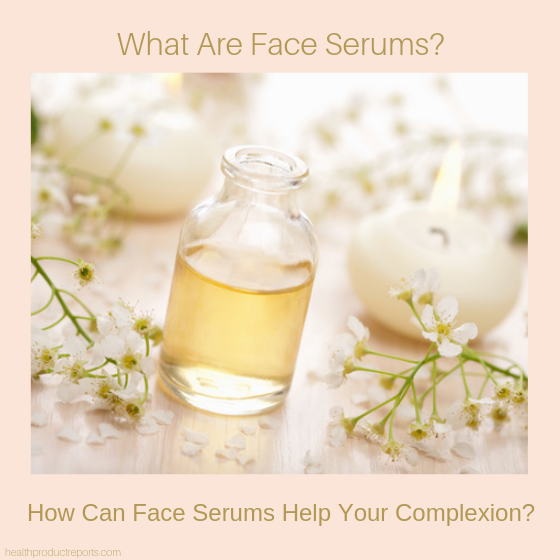 what are face serums?