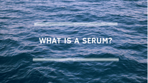 What is a serum - hyaluronic acid serum