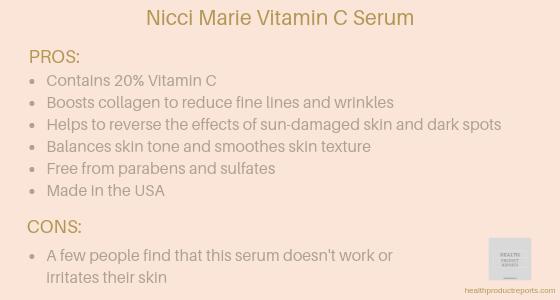Nicci Marie Vitamin C serum