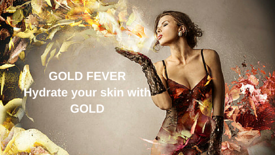 Anti-aging products - Hydrate your skin with GOLD