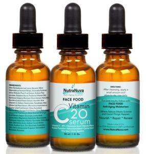NutraNuva Face Food Vitamin C Serum - skincare products