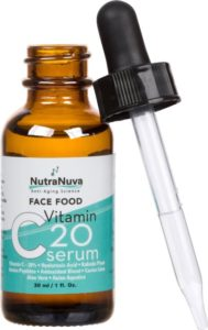 NutraNuva Face Food Vitamin C Serum