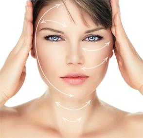 NutraNuva Face Food Vitamin C Serum - womans face