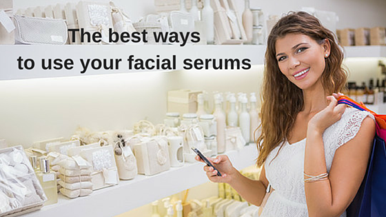 The best ways to use your facial serums