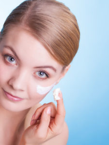 Add a good moisturizer over the top of your hyaluronic acid serum