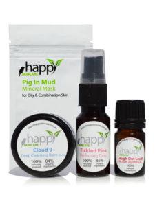 Super sized sample packs - vegan skincare