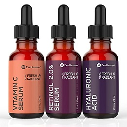 Eve Hansen's Best Selling Facial Serums Set