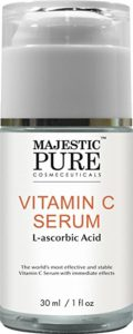 Majestic Pure Vitamin C Serum for Face and Neck