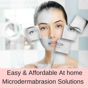 Microdermabrasion solutions