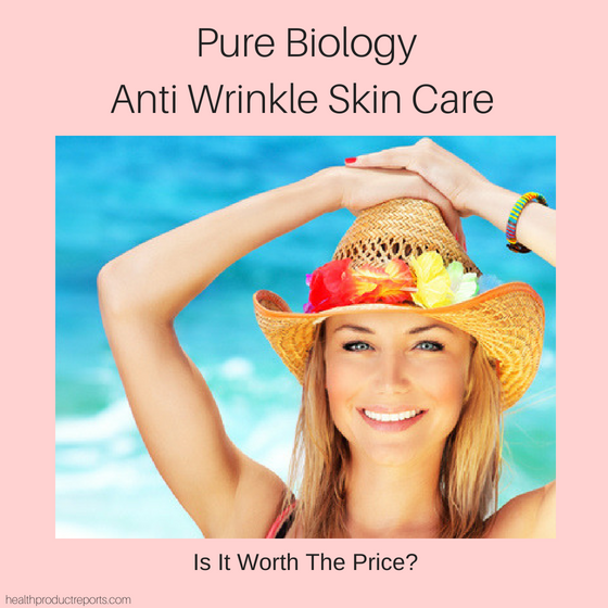 Pure Biology Anti Wrinkle Skin Care