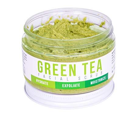Summer to Autumn Skin care tips - Green Tea Facial Scrub by Teami